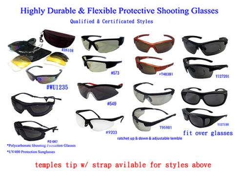 4b165617c72 Polycarbonate Shooting Protection Glasses