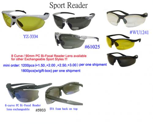 dfff7ed3290 Bi-focal Sport Glass with interchangeable lens--